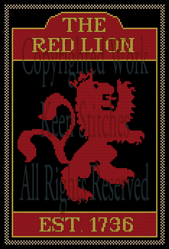 Red Lion Tavern Sign
